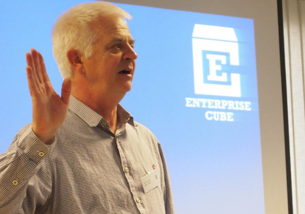 our trainer Paul explains Strive to new Start-ups