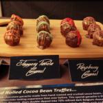 Photo of chocolate truffles