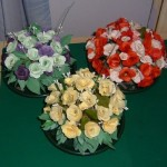 Photo of florigami table-centres